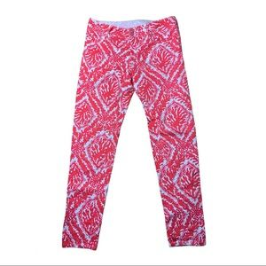 Lilly Pulitzer Patterned Worth Straight Jeans